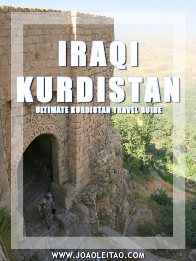 Backpacking Travel Guide to Visit Northern Iraq