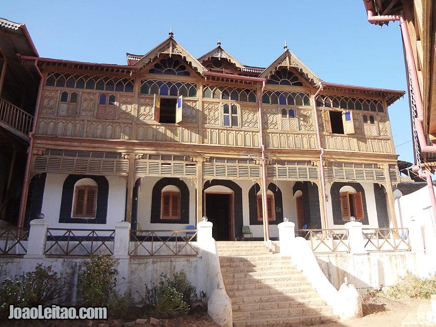 Arthur Rimbaud House Museum in Harar, Ethiopia
