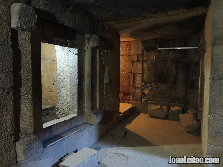 Inside the Gebre Meskel Tombs in Axum, Ethiopia