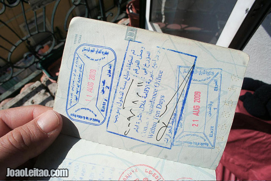 Visa to the Kurdistan Region of Iraq Republic