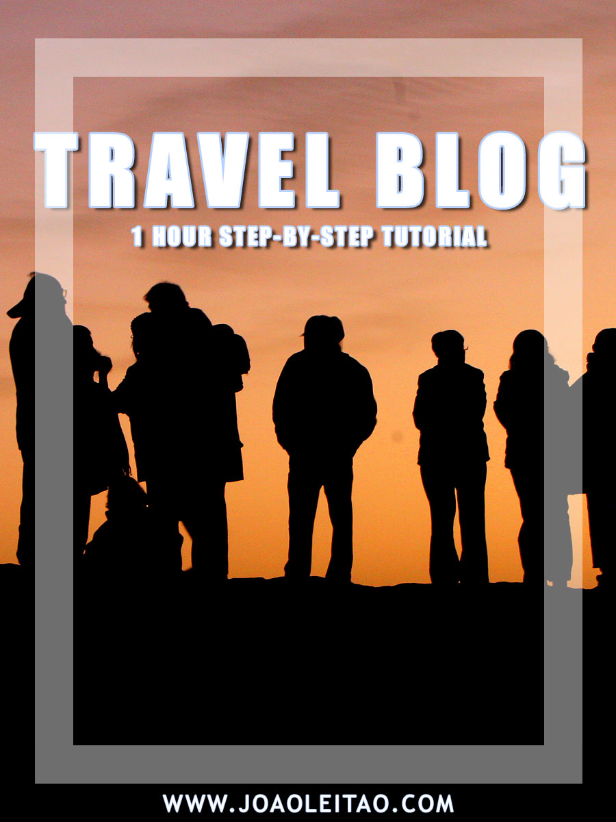 How to Create a Travel Blog in 1 hour – Step-by-step Tutorial