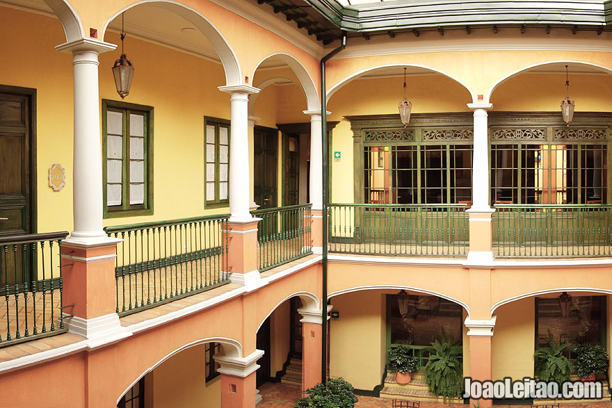 Colonial architecture of Hotel de la Opera