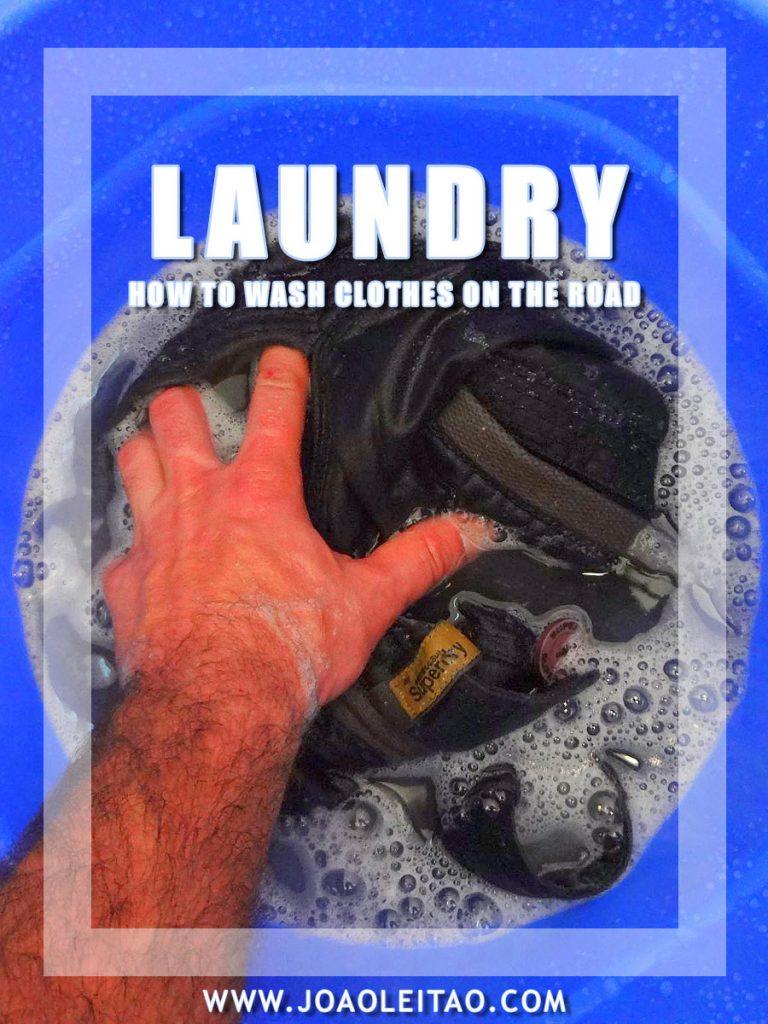 यात्रा करते समय कपड़े धोने कैसे करें - चरण-दर-चरण युक्तियाँ