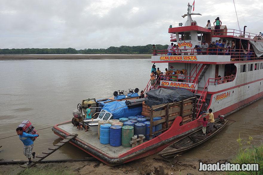 Boat Arabela I - Iquitos to Cabo Pantoja