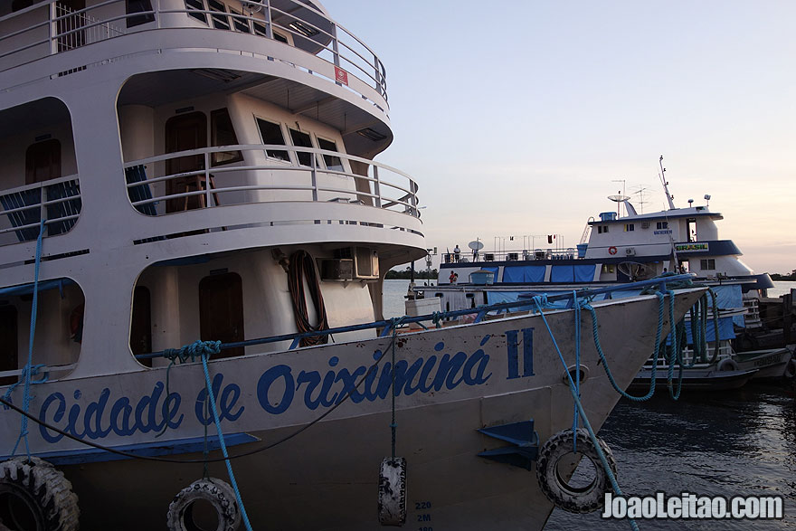 Boat Cidade Oriximiná II - Oriximiná to Manaus