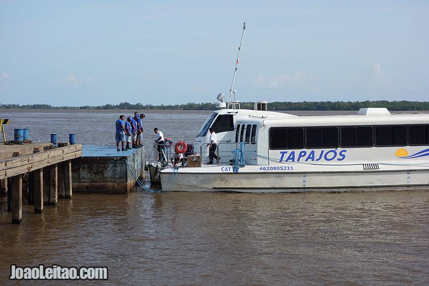 Speedboat Tapajós - Óbidos to Oriximiná