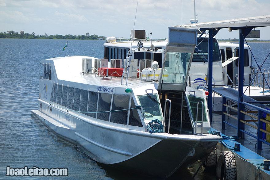 Speedboat Tapajós