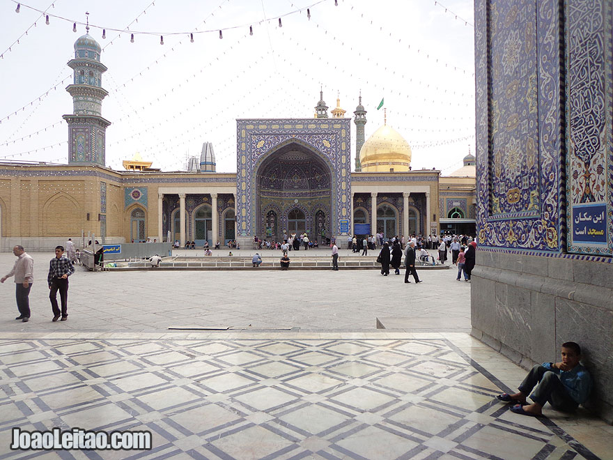 Fatima Masumeh Shrine in Qom, Iran