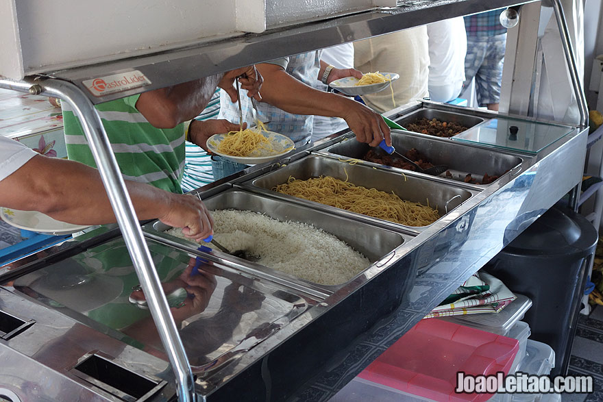 Food on Boat to Tabatinga