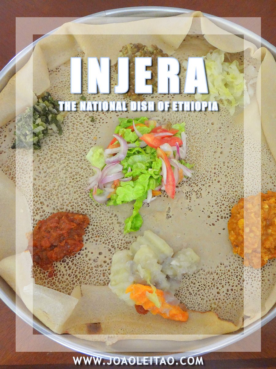 Injera - the delicious national dish of Ethiopia - East Africa