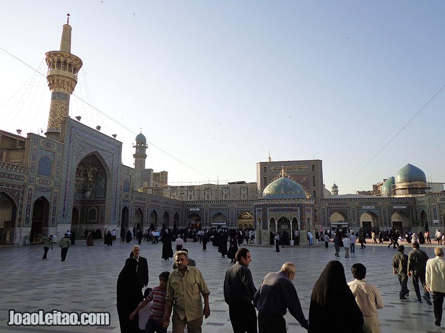 Imam Reza Mausoleum in Mashhad, Iran