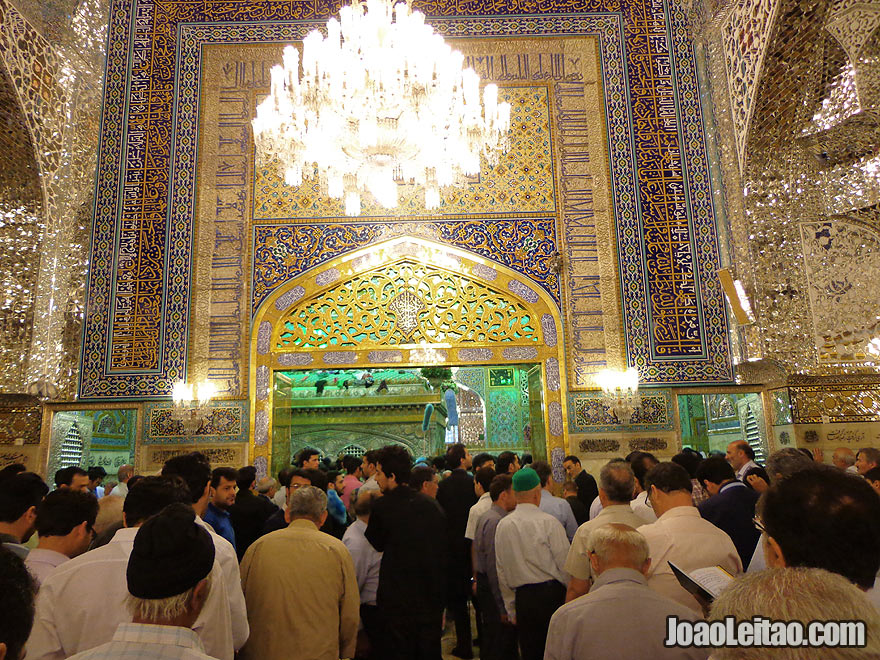 Imam Reza Shrine in Mashhad, Iran