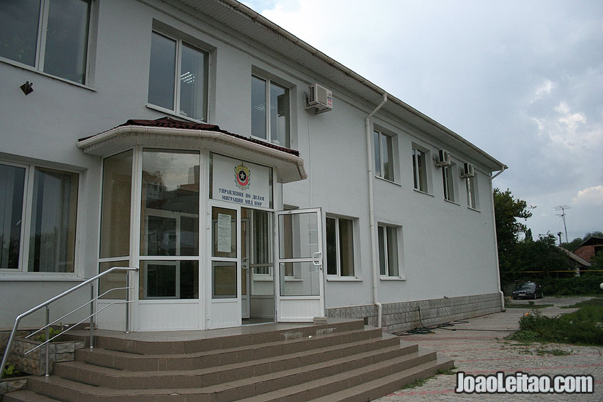 Immigration Office in Tiraspol, Visa for Transnistria