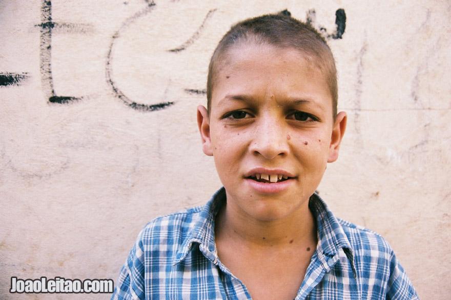 Young Iranian boy in Shiraz