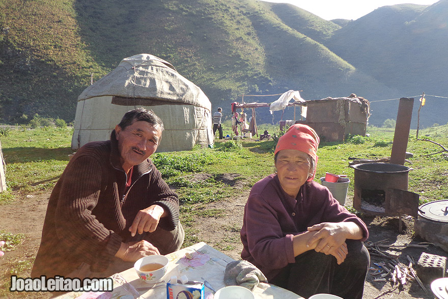 Kyrgyzstan Nomads Central Asia
