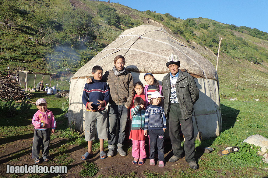 Nómadas da Ásia Central