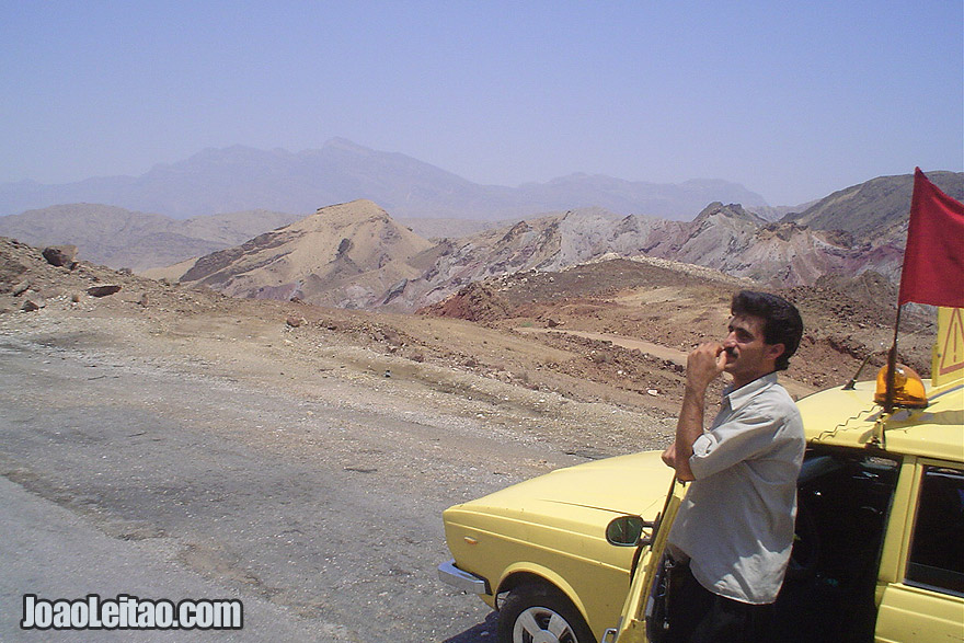 Man in the Zagros Mountains of Iran