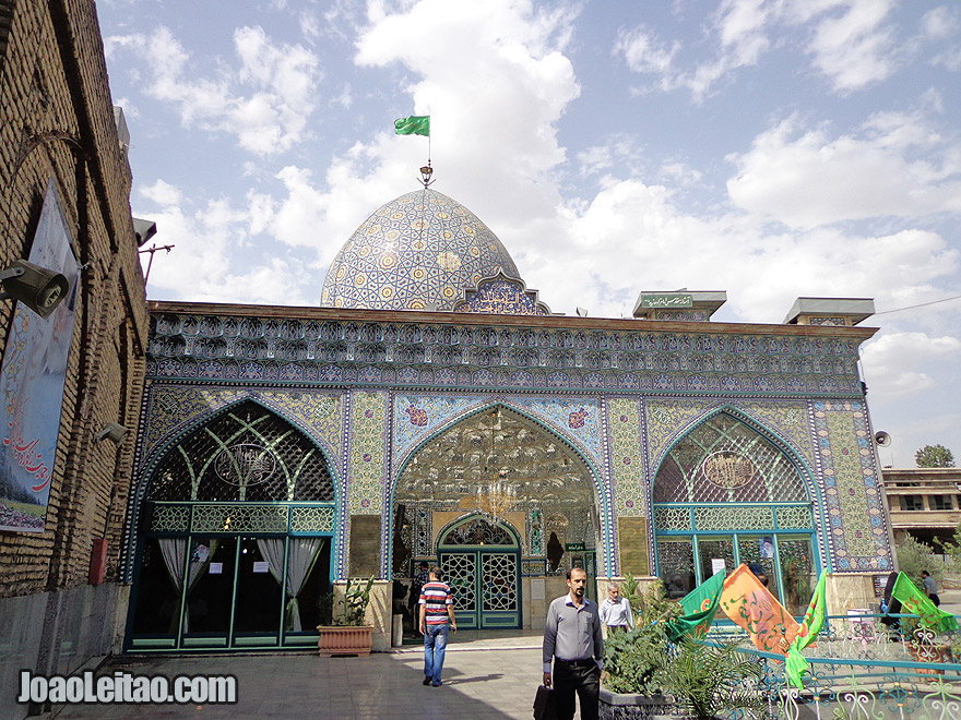 Zaid Mosque at the Tehran Bazaar, in Iran
