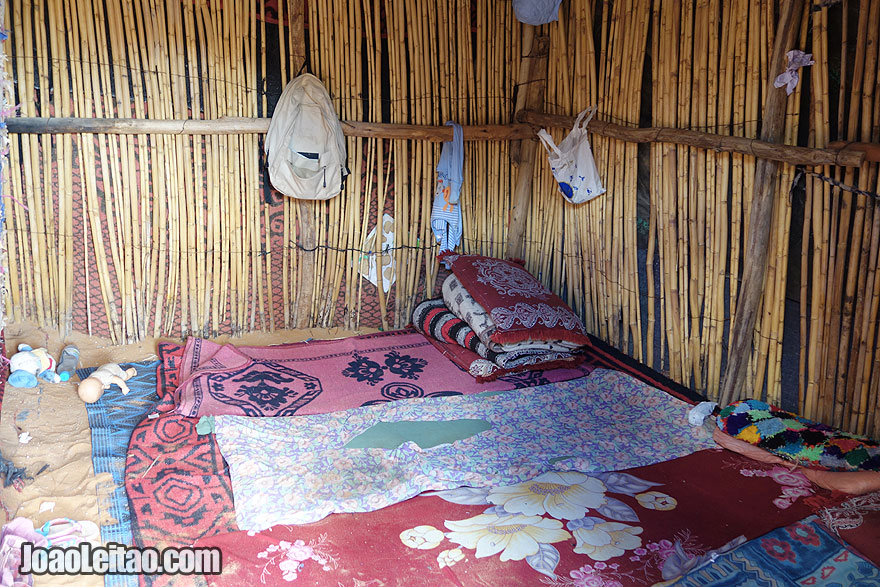Nomad Bedroom in Erg Chebbi Dunes