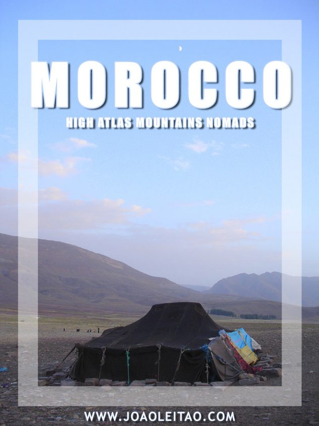 Nomads of Morocco - High Atlas Mountains nomadic life