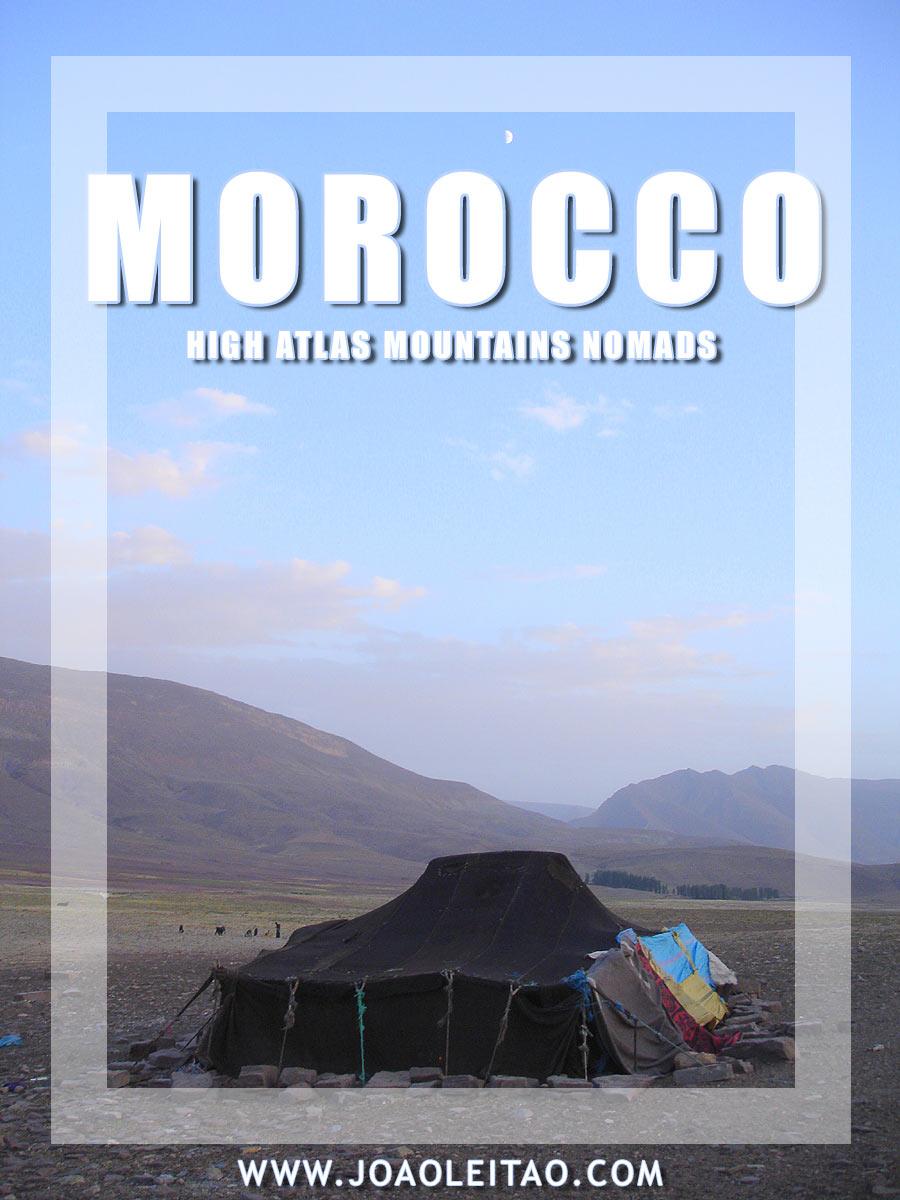 Nomads of Morocco - High Atlas Mountains nomadic life