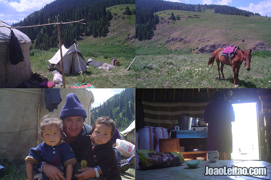 Nomadic lifestyle in Central Asia