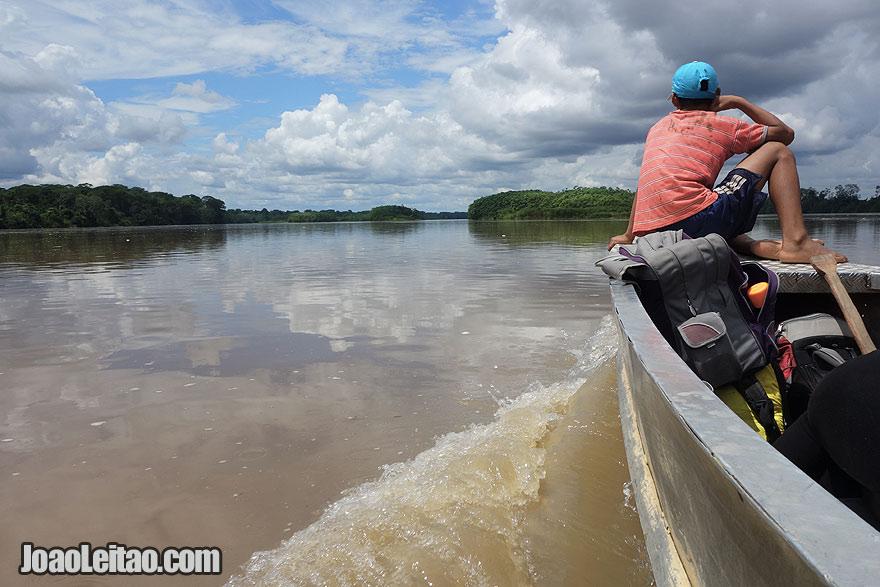 Jungle Boat - Cabo Pantoja to Nuevo Rocafuerte