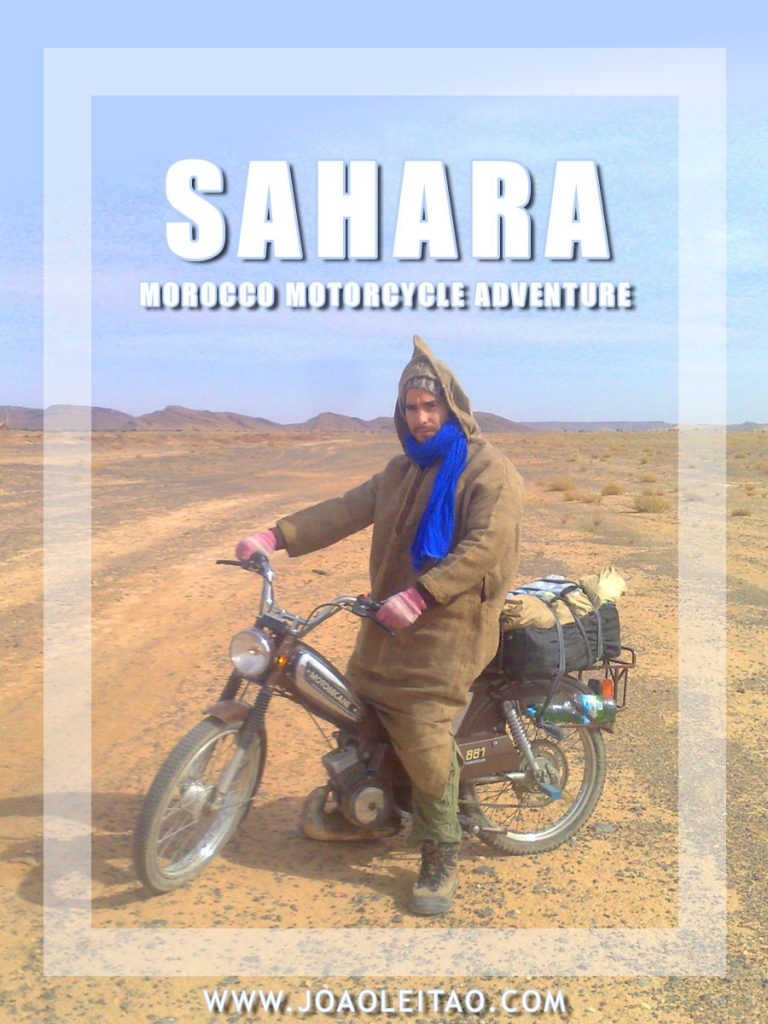 Motorcycle adventure in Sahara Desert – Morocco