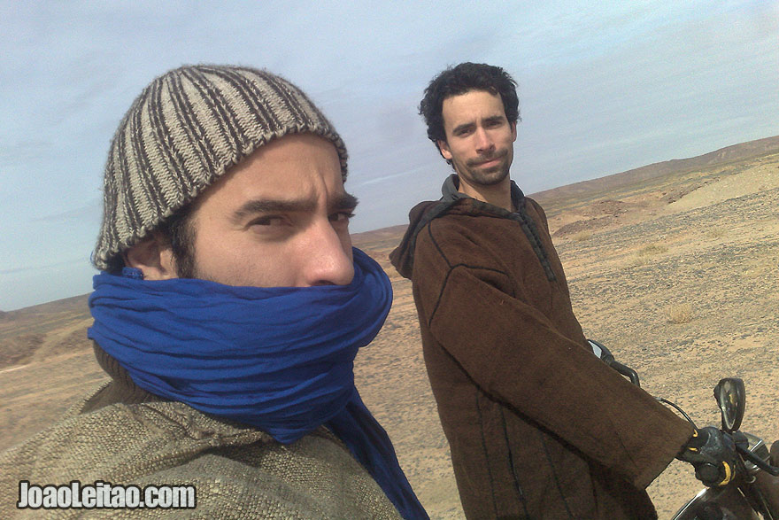 Motorcycle Diaries in Sahara Desert