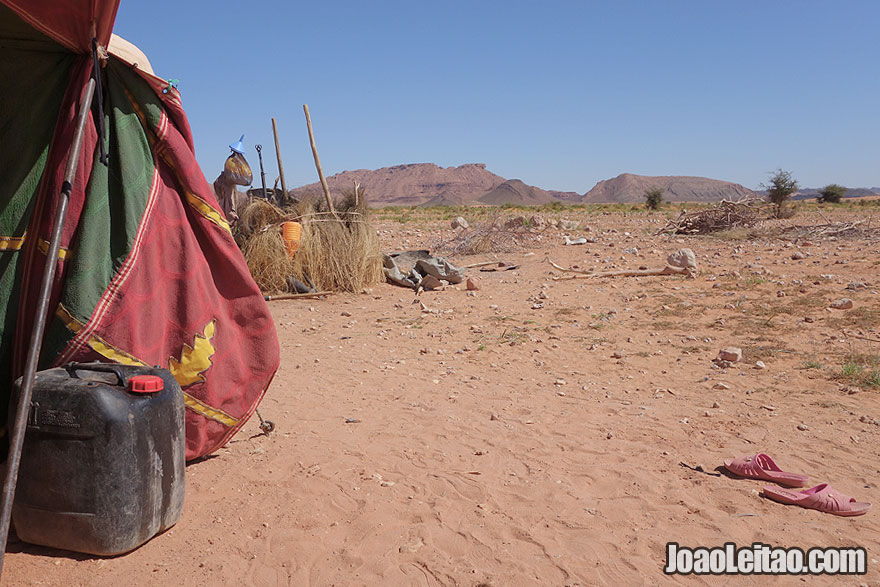 Sahara Desert Nomad Tents