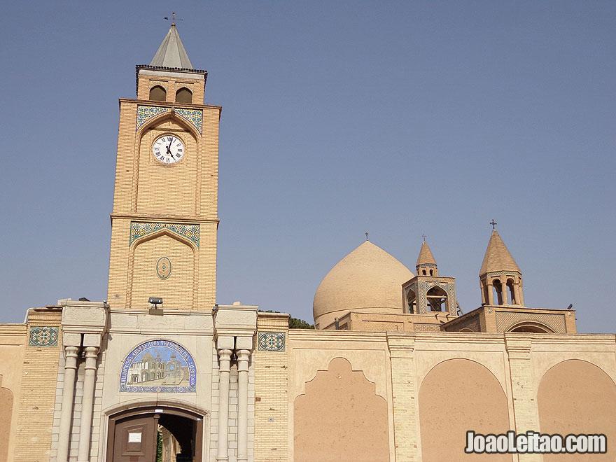 Holy Savior Cathedral, Armenian Quarter, Esfahan, Iran