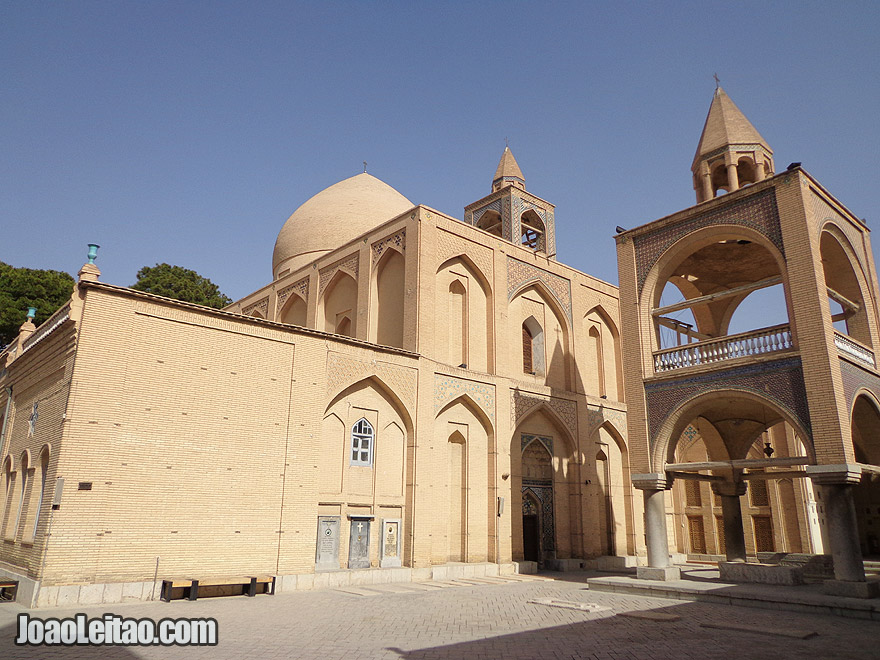 The Holy Savior Cathedral in Esfahan, Iran