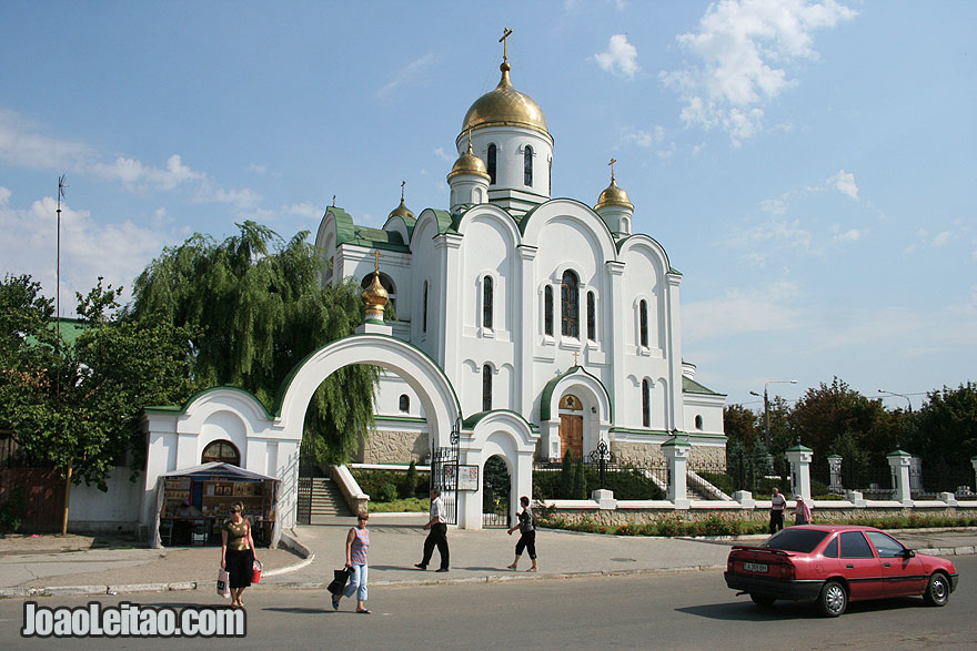 Visit The Nativity Church in Tiraspol
