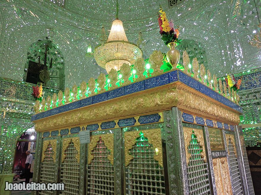 Zaid Mosque at the Tehran Bazaar, in Iran