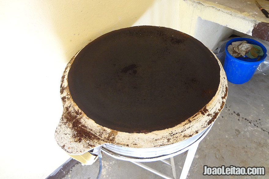Injera preparation