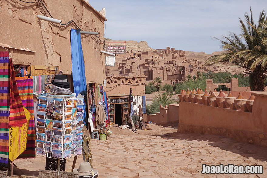 UNESCO Ksar of Ait Benhaddou in Ouarzazate