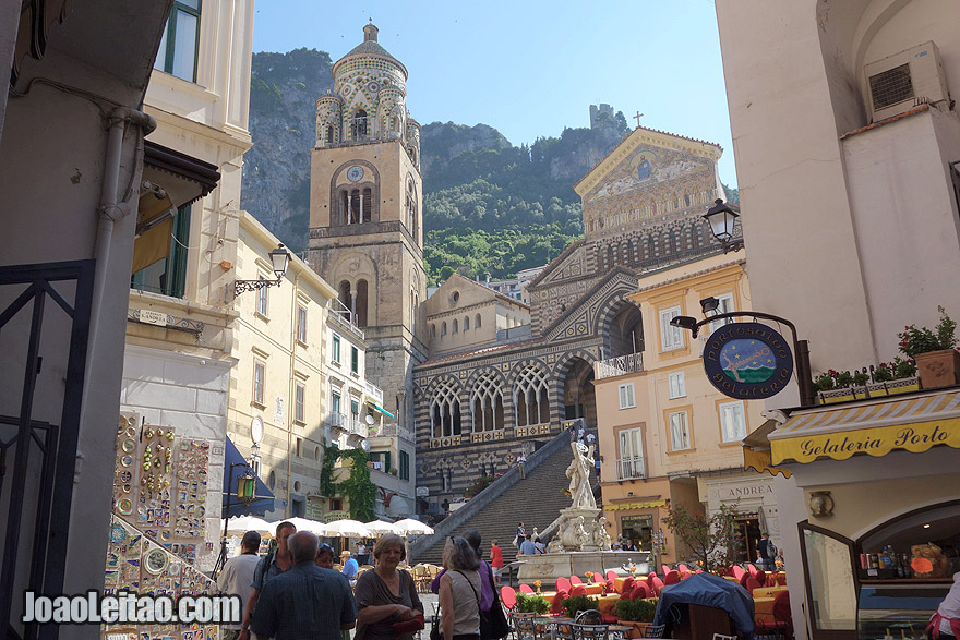 Cathedral and Duomo in Amalfi