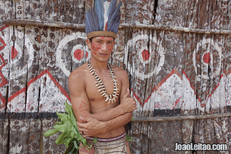 Amazon indigenous man