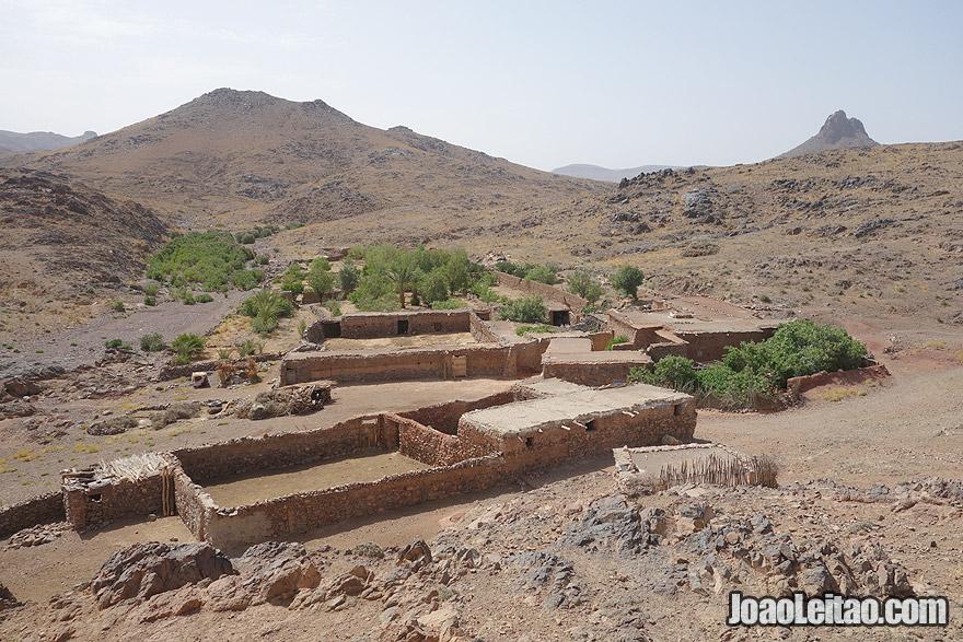 Upper view of Azib N Oudad