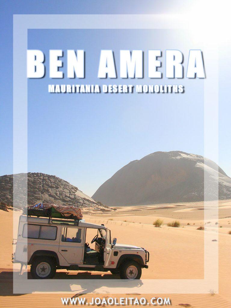 Ben Amera & Ben Aicha – Mauritania isolated desert monoliths