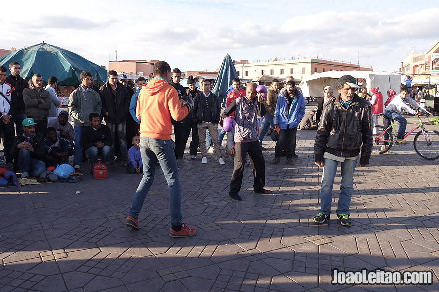 Boxe em Marraquexe