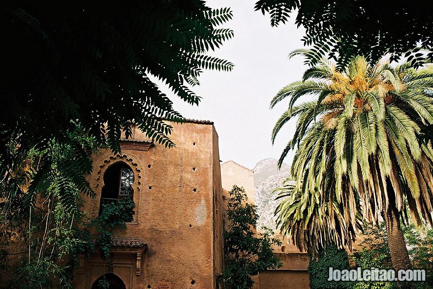Inside the Chefchaouen castle - La Kasbah