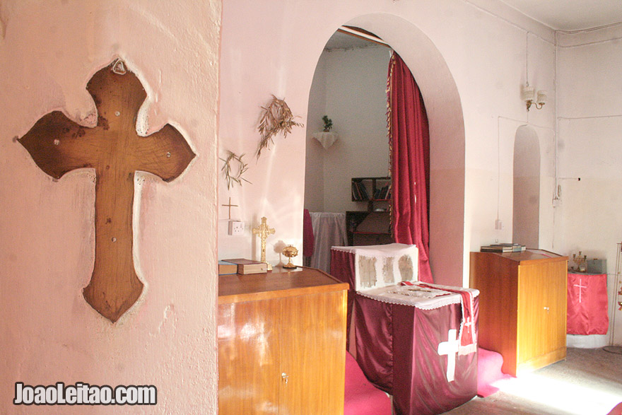 Saint Mary church in Amedia, Iraq