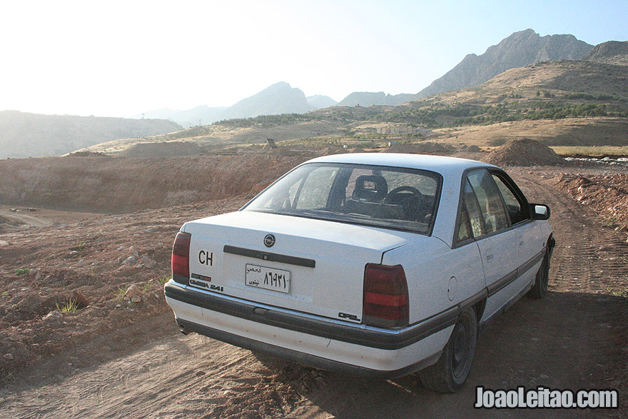 Driving to Barzan, Iraq