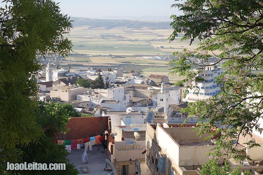 Cidade de El Kef, na Tunísia