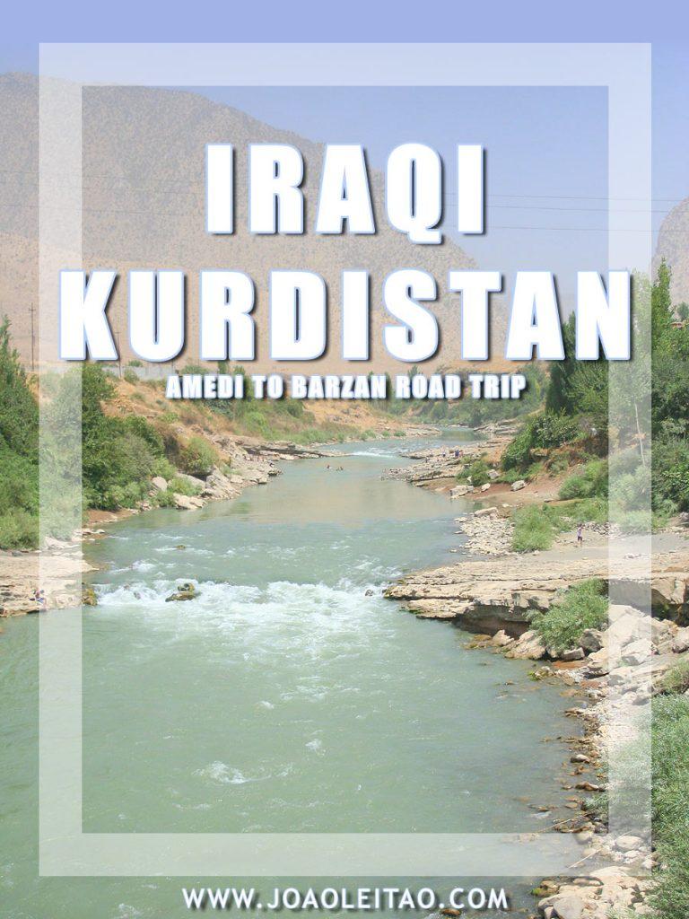 Driving in Iraqi Kurdistan – Amedi to Barzan road trip
