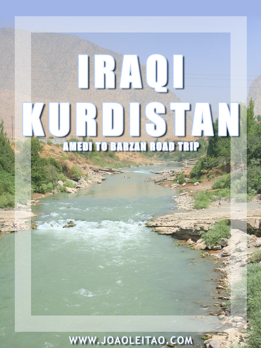 Driving in Iraq - Amedi to Barzan Road Trip