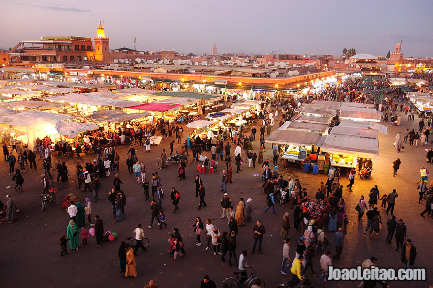 Jemaa el-Fna Square in Marrakesh