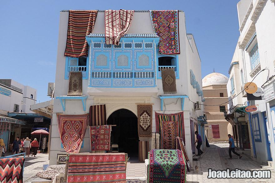 Kairouan, a quarta cidade sagrada do Islão a seguir a Meca, Medina e Jerusalém