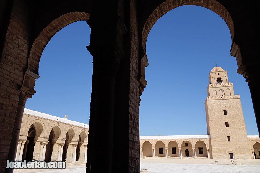 Grande Mesquita de Kairouan, na Tunísia